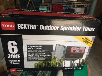 Outdoor Sprinkler Timer for Sale in New York,  NY