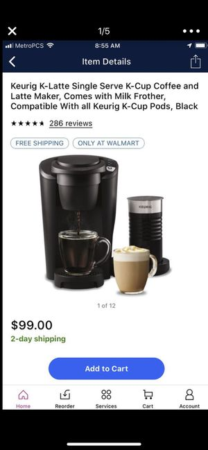 Keurig k latte maker for Sale in Modesto, CA