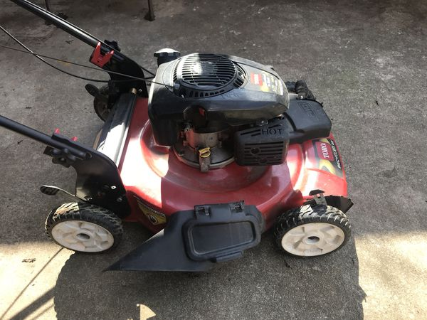 TORO self propelled lawn mower