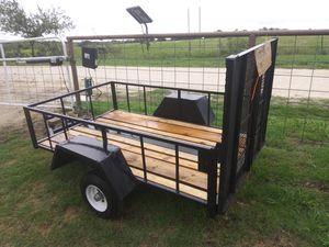 Flatbed custom trailer for Sale in Abilene, TX