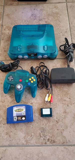Ice blue Nintendo 64 for Sale in Fresno, CA
