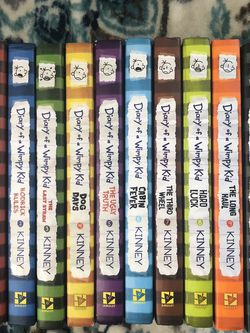 Diary Of A Wimpy Kid Hardcover Books 1-10 for Sale in Compton,  CA