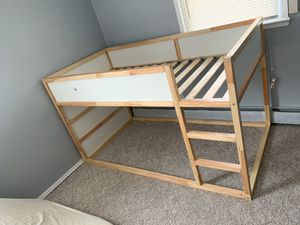 IKEA Kura bunk bed with 2 twin mattresses for Sale in Queens, NY