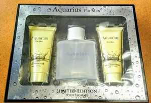 Aquarius For Men Cologne Gift Set - NEW IN BOX for Sale in Silver Spring, MD
