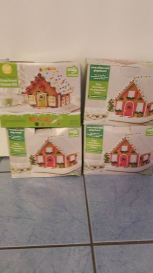Four(4) Build It Yourself Gingerbread House Kit for Sale in Baltimore, MD