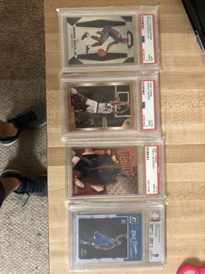 NBA graded cards for Sale in San Angelo, TX