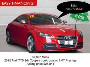 2012 Audi TTS 2 dr Coupes. 37,392 Miles, Asking price $25,844 for Sale in Las Vegas, NV