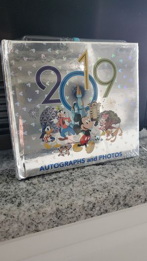 Disney's 2019 autographs and photo book for Sale in St. Petersburg, FL