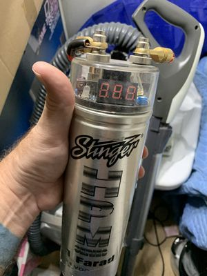 Stinger Digital Display Capacitor and Monster Cable wiring for Sale in Boynton Beach, FL