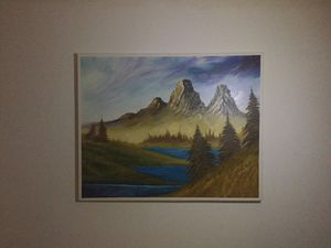 """24"""" X 30"""" oil painting by local artist. for Sale in Johnson City, NY"""