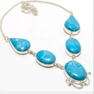 Turquoise Sterling Silver Necklace 925 for Sale in Sioux Falls, SD