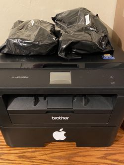 Brother Laser Printer + 2 Free Toner Cartidges for Sale in Beverly Hills,  CA