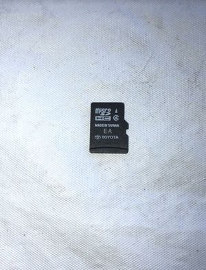 Toyota maps sd card Fits navigation on prius corolla camry solara tundra and tacoma Works fine Came off prius for Sale in Orlando, FL