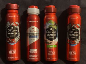 OLD SPICE BODY SPRAY for Sale in South Houston, TX