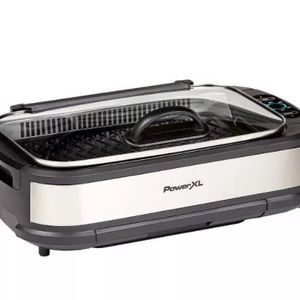 PowerXL Smokeless Grill Pro - Silver for Sale in Chicago, IL