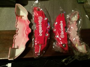 Brendo brake calipers, front and rear, just for looks. Any car, cut to fit. for Sale, used for sale  Edmonds, WA