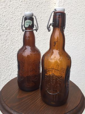 Vintage GROLSCH Glass Bottles for Sale in Glendale, CA