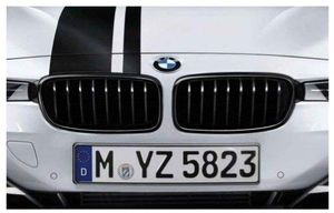 2 BMW Chrome Grills 51712336813 for Sale in Irvine, CA