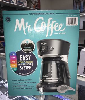 Coffee Maker Programable Cafetera Programable Mr.Coffee 12 Cup for Sale in Virginia Gardens, FL