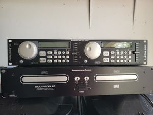 American Audio DCD-PRO310 Professional Dual CD Player for Sale in Pflugerville, TX