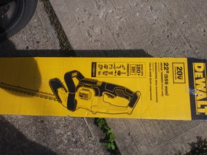 Dewalt hedge trimmer saw brand new for Sale in Pittsburgh, PA