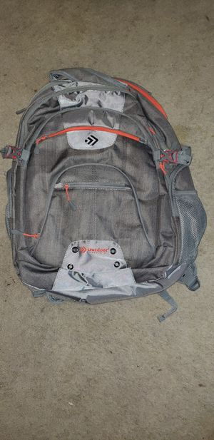 New Grey Backpack with Orange Accents for Sale in North Palm Beach, FL