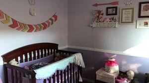 Nursery furniture crib, dresser, changing table for Sale in El Cajon, CA