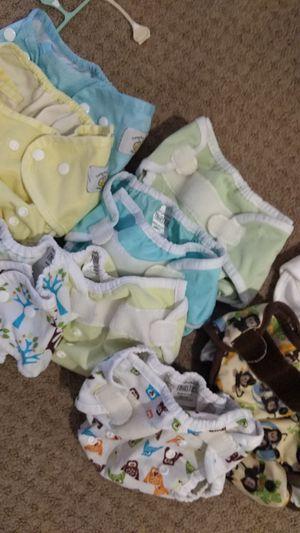 Diaper covers (9) for Sale in Manassas, VA