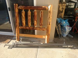 Individual Headboard and bed frame for Sale in Sioux City, IA