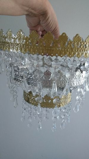 Ikea 3 tier Vintage Chandelier make an offer for Sale in Bloomington, IL