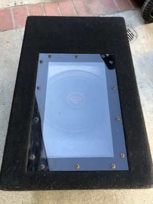 """Cerwin Vega 12"""" bandpass subwoofer $80 for Sale in San Diego, CA"""