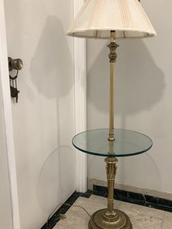 Floor Lamp With Glass Top for Sale in Tukwila,  WA