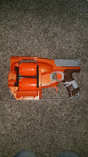 Double round Nerf gun for Sale in Portland, OR