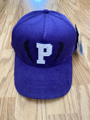 NEW PINK DOLPHIN CORDUROY LIGHTNING P HAT IN PURPLE **SOLD OUT STYLE** for Sale in Torrance, CA
