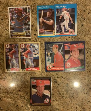 Andy Van Slyke Baseball card Lot for Sale in Upland, CA