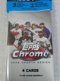 2020 Topps Chrome Baseball Value Pack for Sale in Marysville,  WA