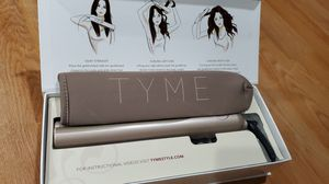 Tyme hair iron curling and straight for Sale in Sacramento, CA