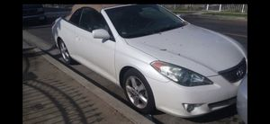 2005 Toyota solara SLE convertible for Sale in Palm Springs, CA