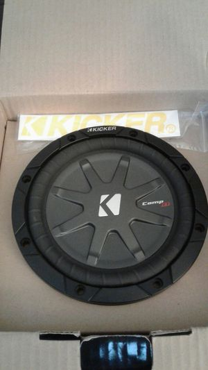 """New in factory box KICKER COMP RT 6.75"""" SUBWOOFER'S for Sale in Phoenix, AZ"""