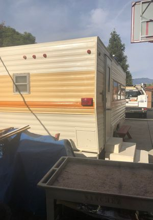 1973 Aljo 18 foot trailer/camper/RV for Sale in Montclair, CA