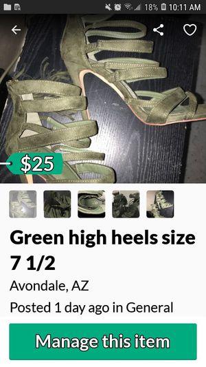 High heels size 71/2 for Sale in Avondale, AZ