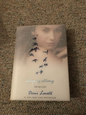 Staying Strong; 365 Days a Year- Demi Lovato for Sale in Harrison, NY