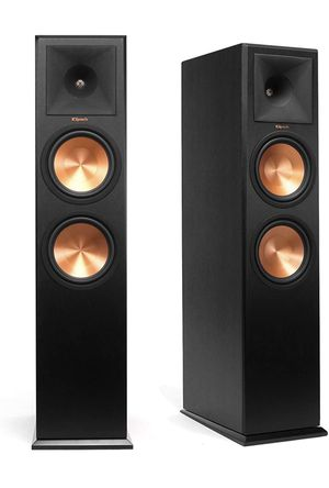 Klipsch RP-280F Reference Premiere Floorstanding Speaker with Dual 8 inch Cerametallic Cone Woofers (Ebony Pair) for Sale in Downey, CA