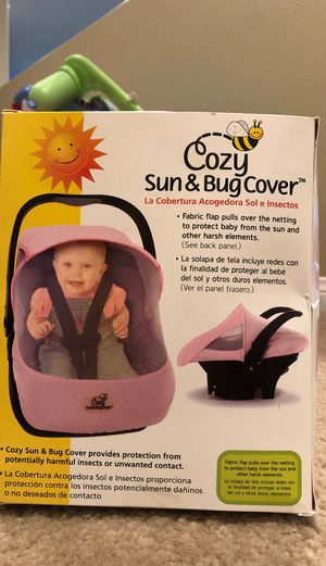 Infant seat bug and sun cover for Sale in Murrieta, CA