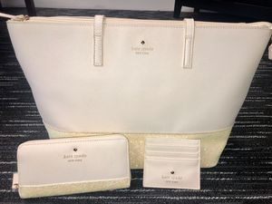Kate Spade Tote, Wallet & Card Holder for Sale in Herculaneum, MO