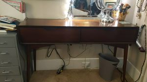 Stylish wood console table for Sale in Seattle, WA
