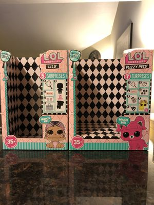 lol surprise fuzzy pets/lils boxes for Sale in Stockton, CA