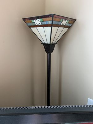 Stained glass floor lamp for Sale in Atlanta, GA