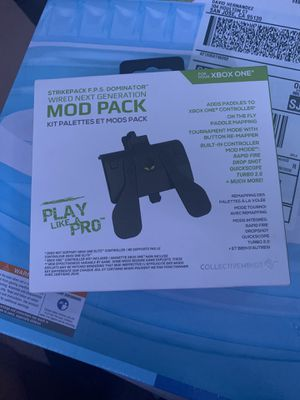 Collective Minds Mod Pack Microsoft CM00040 Wired Paddles Strike Pack Dominator for Sale in Cupertino, CA