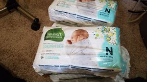 Seventh Generation Sensitive Skin Nb Diapers for Sale in Baltimore, MD